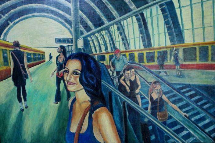 Abschied von Shirin - 2009 - 80 x 120