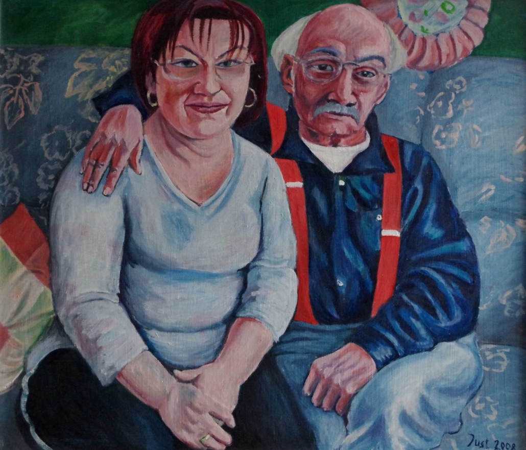 Bernd und Carola - 2008 - 70 x 82