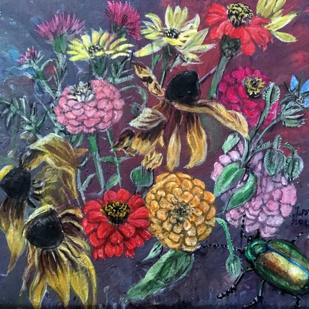 Blumen und Insekten 2019