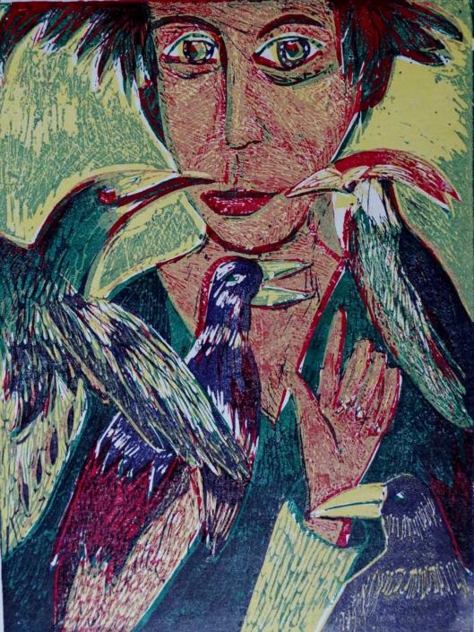 Dante - Der Heilige Franz - 2002 - 32,5 x 24