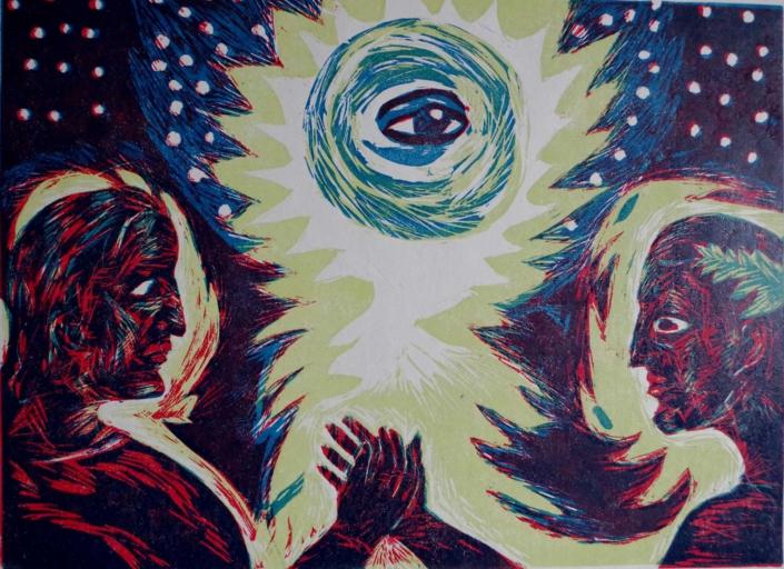 Dante - Empor ans Licht - 2003 - 30 x 40