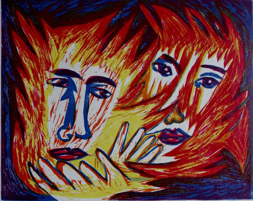 Dante - Flammen der Liebe - 2002 - 24 x 32,5