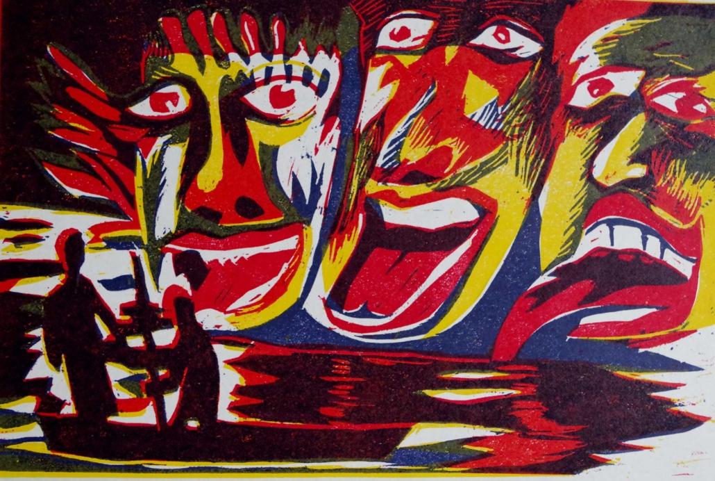 Dante - Furien - 2002 - 20 x 30