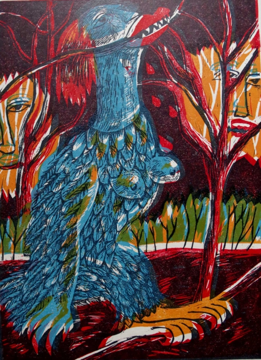 Dante - Harpye - 2002 - 40 x 30