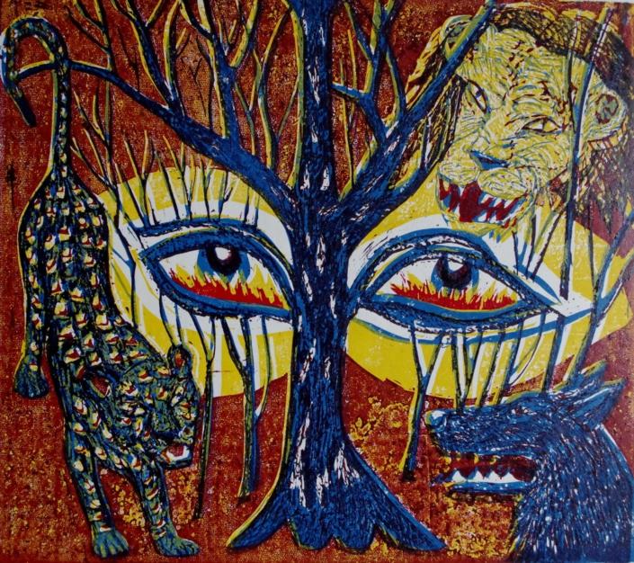 Dante - Im Wald der Sünde - 2002 - 30 x 40