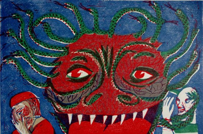 Dante - Medusa - 20 x 30