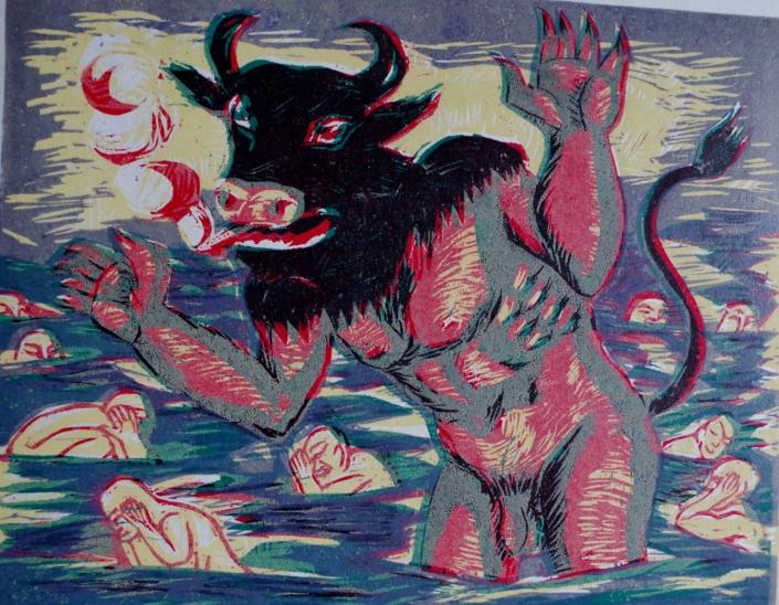 Dante - Minos - 2002 - 24 x 32,5