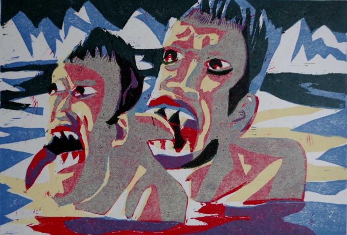 Dante - Ugolin frisst Roger - 2002 - 24 x 32,5