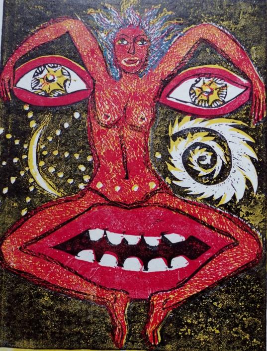 Dante - Offenbarung - 2002 - 32,5 x 24