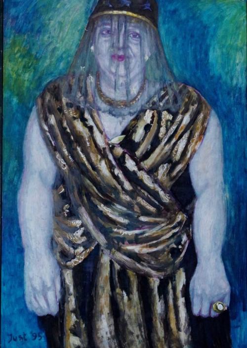 Dunkelgräfin - 1995 - 125 x 86