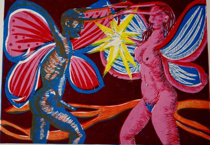 Erotikzyklus - Blind date - 2012 - 30 x 40