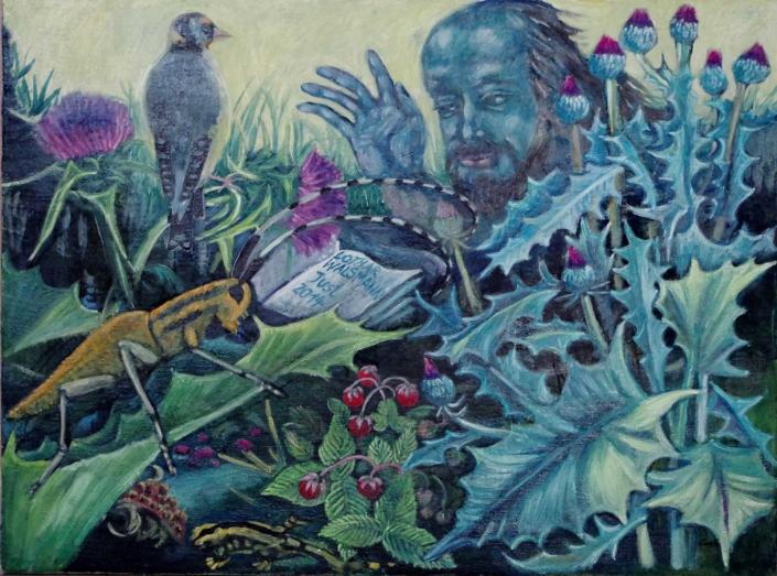 Fantasie mit Dichter - 2014 - 60 x 78