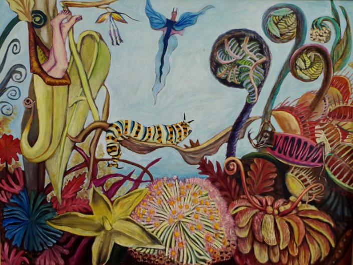 Florale Fantasie - 2013 - 74 x 98