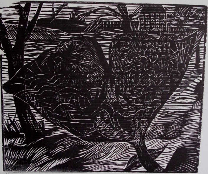 Goethe - Gingo Biloba - 2001 - 21 x 24,5