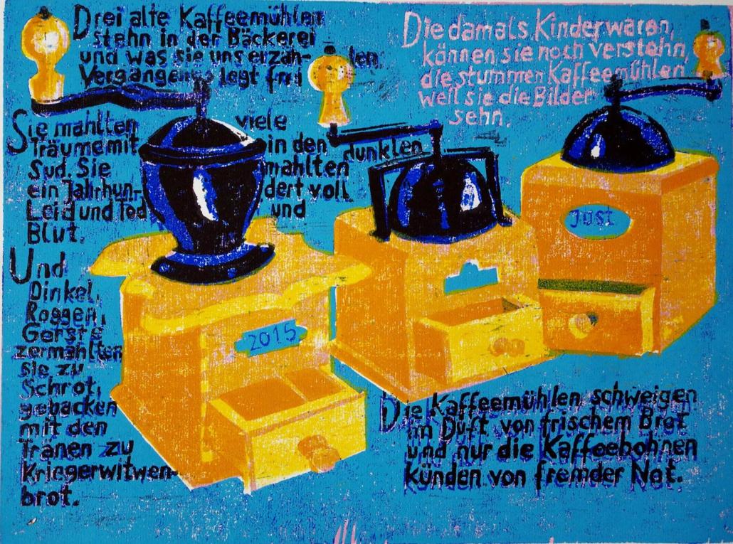 Die Kaffeemühlen - 2014 - 30 x 40