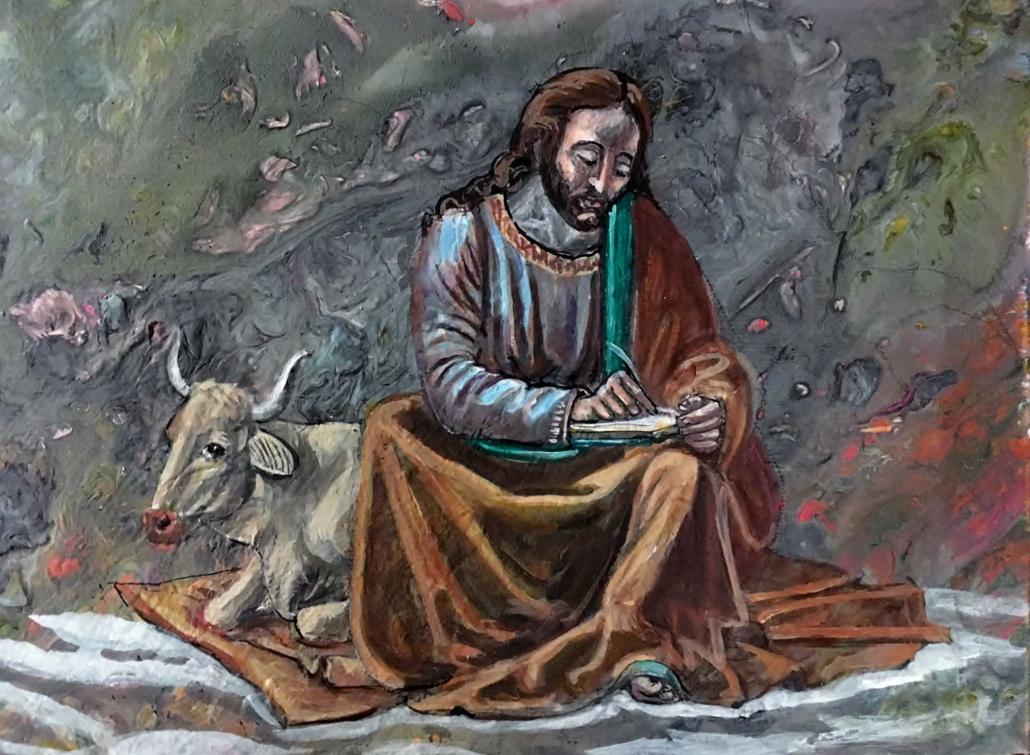 Heiliger Lukas nach Ghirlandaio - 2019