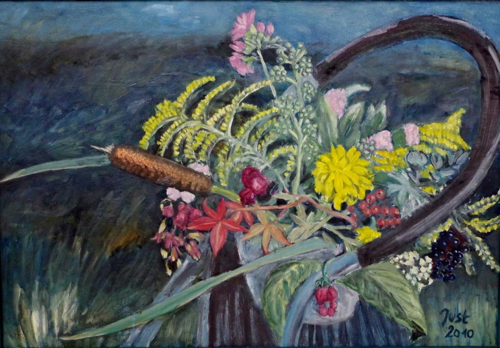 Herbststillleben - 2010 - 52 x 74