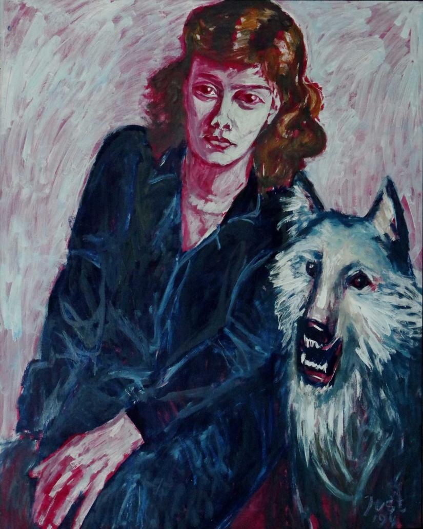 Jana und Cherely - 1994 - 112 x 89