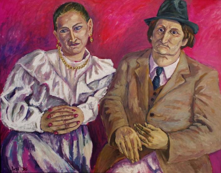 Kerstin und Horst - 1996 - 110 x 140