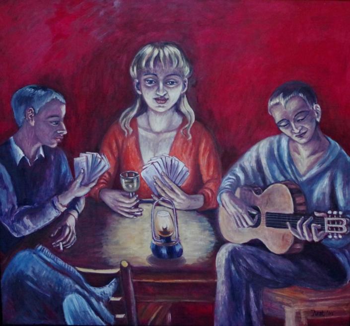 Kleine Abendgesellschaft - 2005 - 110 x 120