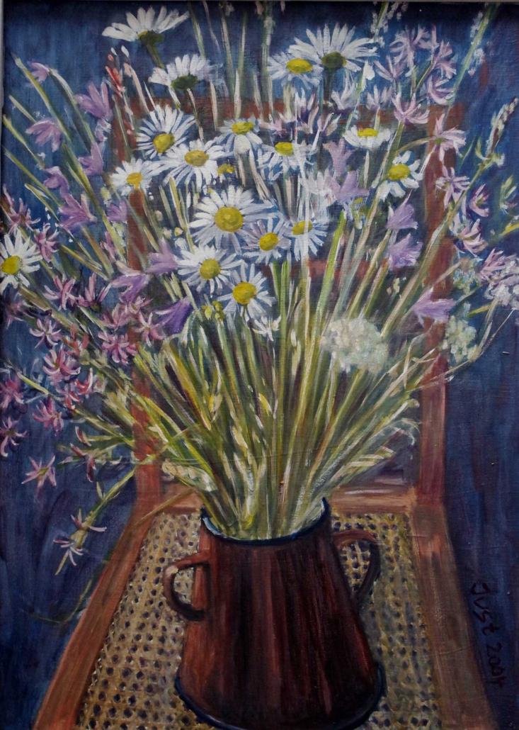 Margeritenstrauß - 2004 - 72 x 52
