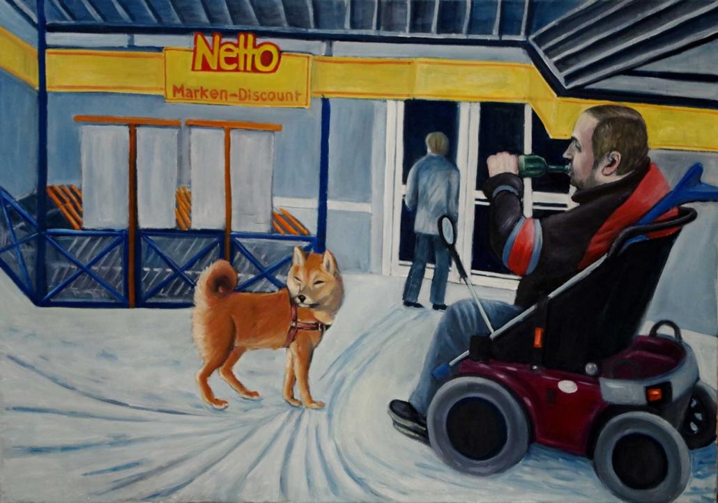 Netto - 2011 - 70 x 100