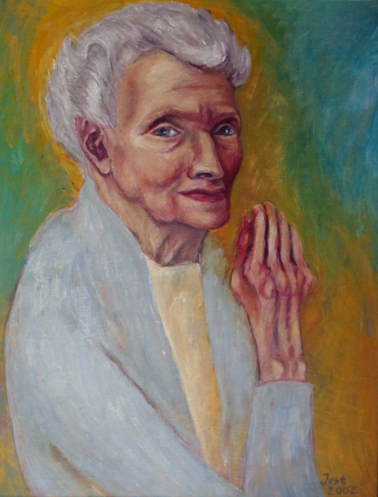 Oma Hilde - 2002 - 64 x 84