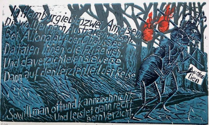Ringelnatz - Ameisen - 2011 - 20 x 30
