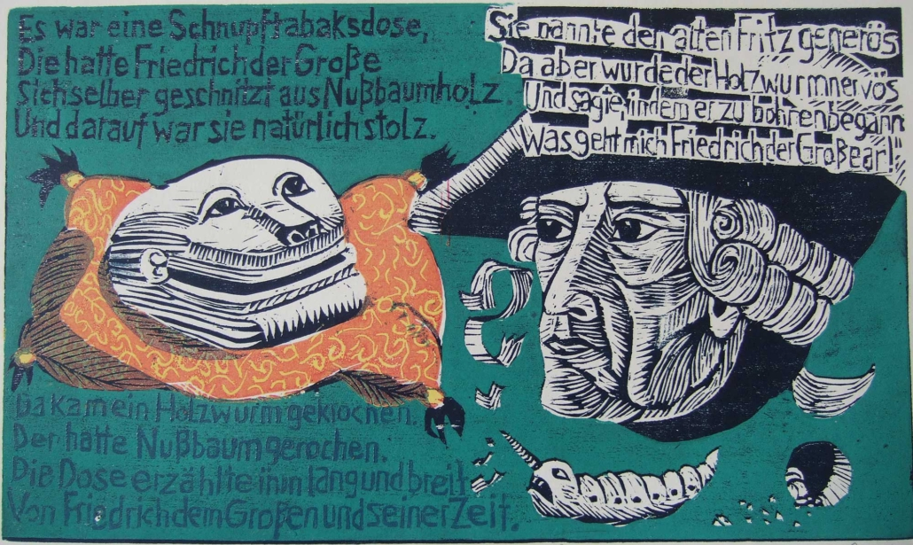 Ringelnatz - Die Schnupftabaksdose - 2011 - 20 x 30