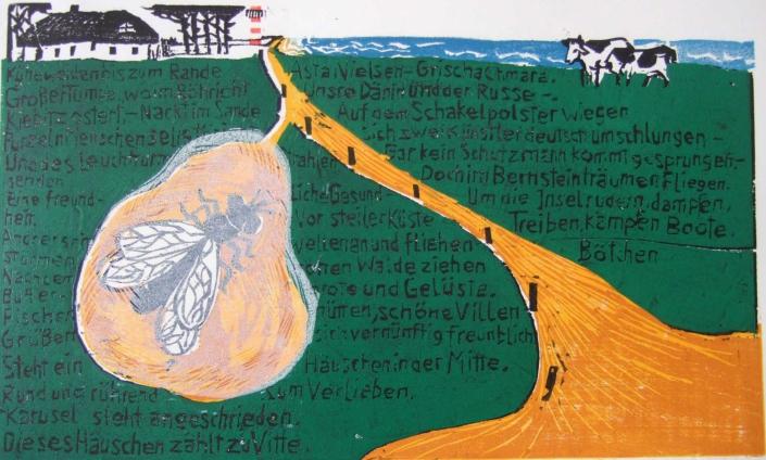 Ringelnatz - 2011 - Hiddensee - 20 x 30