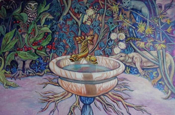 Römischer Brunnen - 2015 - 80 x 120