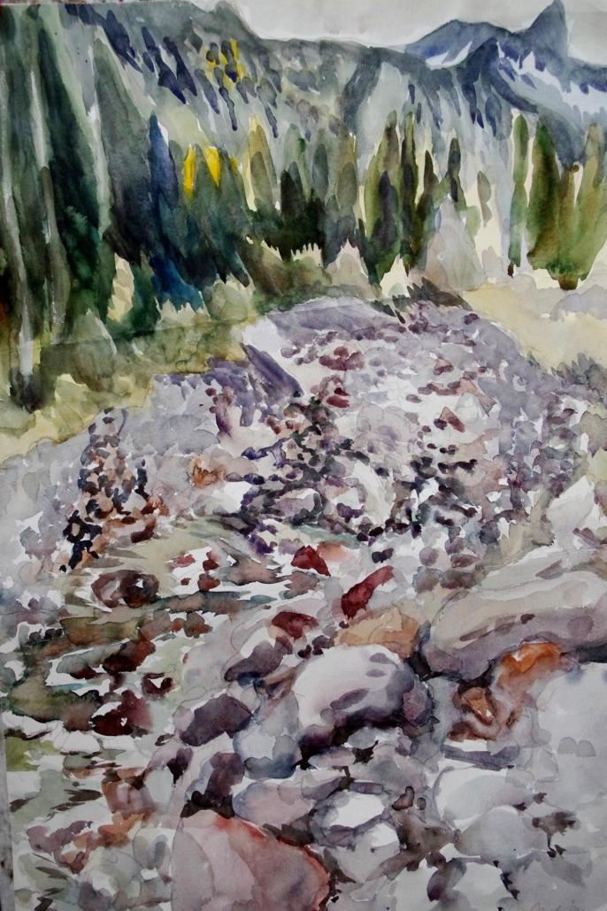 Sarcetal, Trentino - 1994 - 76,5 x 51
