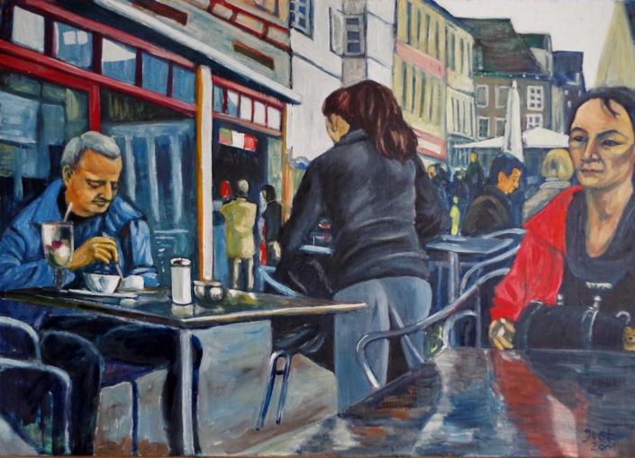 Stadtcafè - 2011 - 52 x 73