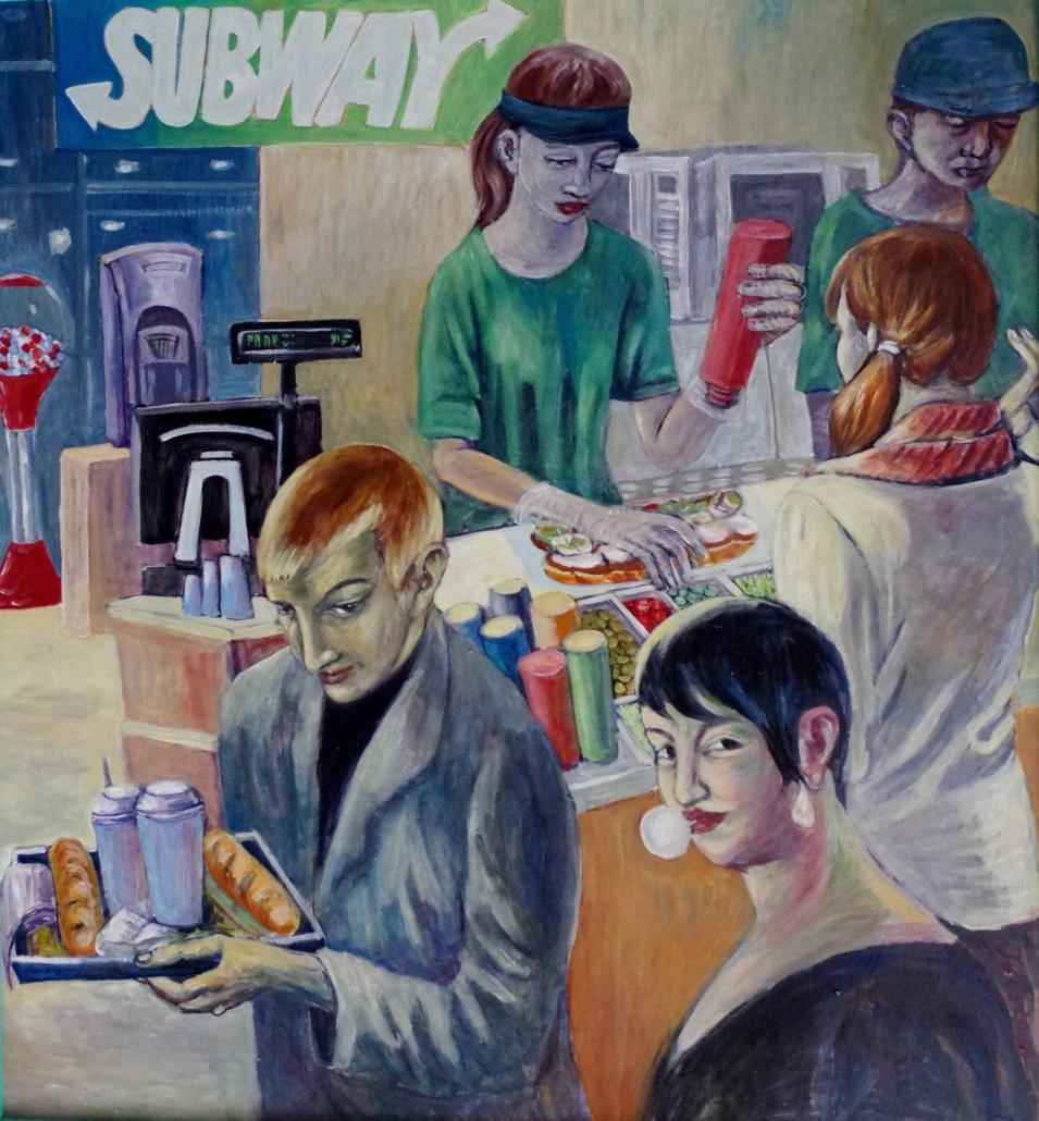 Subway - 2008 - 120 x 110