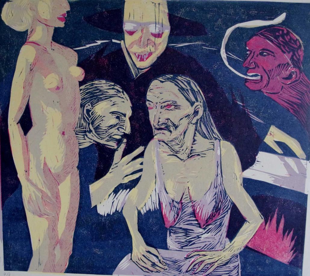 Villon - Ballade einer alten Kemnersfrau - 2001