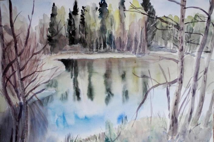 Waldsee Pennewitz - 2007 - 68 x 48