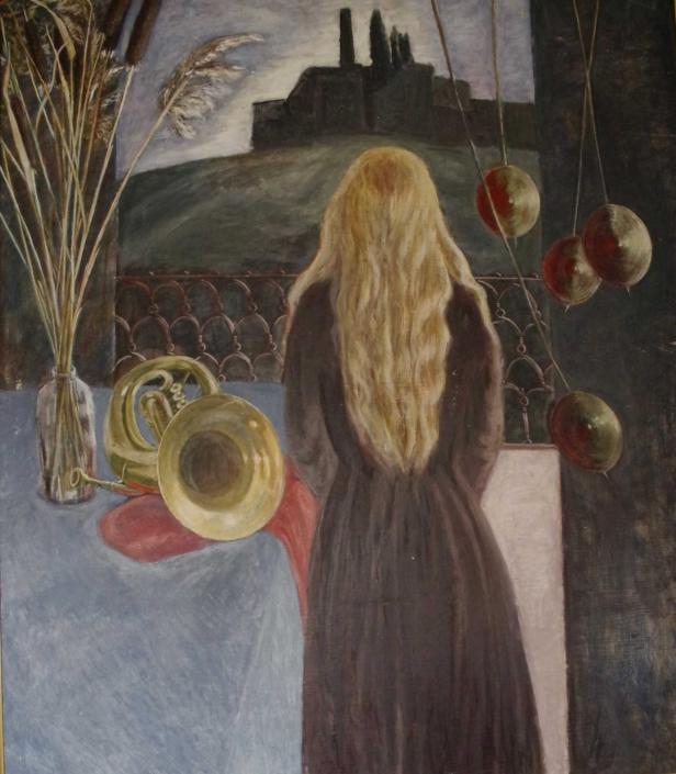 Warten auf den Frühling - 100 x 90 - 1884